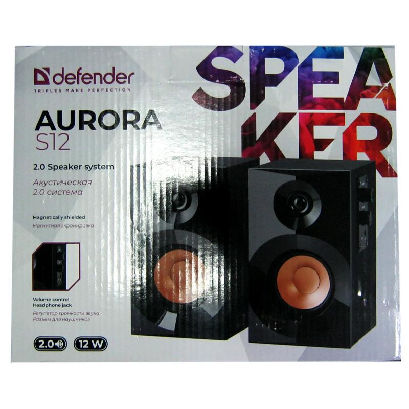 Колонки Defender Aurora S12 2х6W(Распродажа)