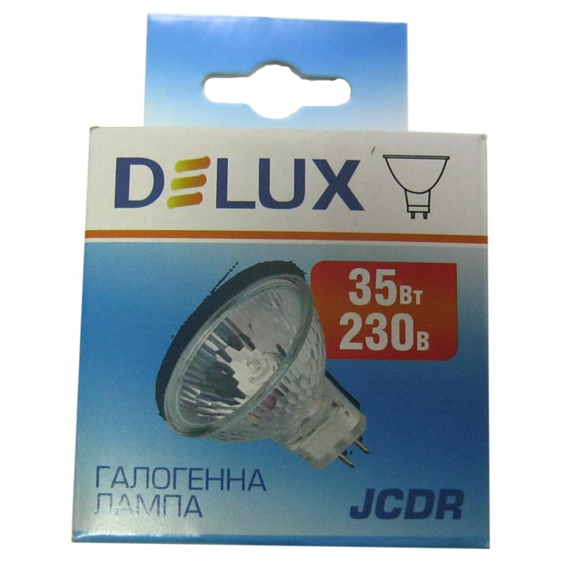 Лампочка DELUX галогеновая JCDR 230V 35W G5.3 ; MR16
