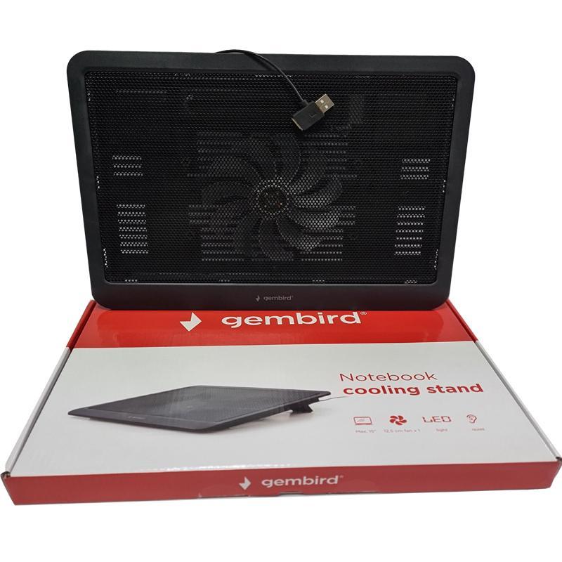 Подставка для ноутбука Gembird NBS-1F15-03,чорный,15,6