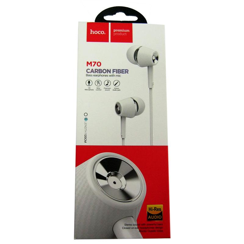 garnitura-dlya-telefona-hoco-m70-white-vakuum