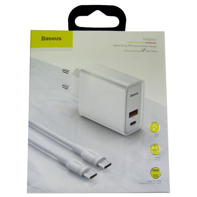 zaryadnoe-ustroystvo-baseus-speed-pps-qc-type-c-30weu-white-kabel-type-c