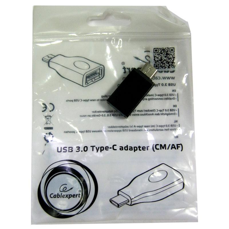 Кабель Cablexpert OTG USB3.0 на Type-C, A-USB3-CMAF-01