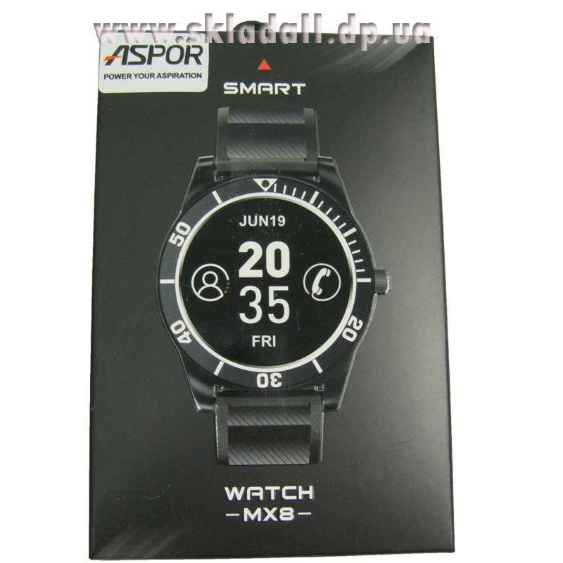 Смарт часы Aspor МX8, черные