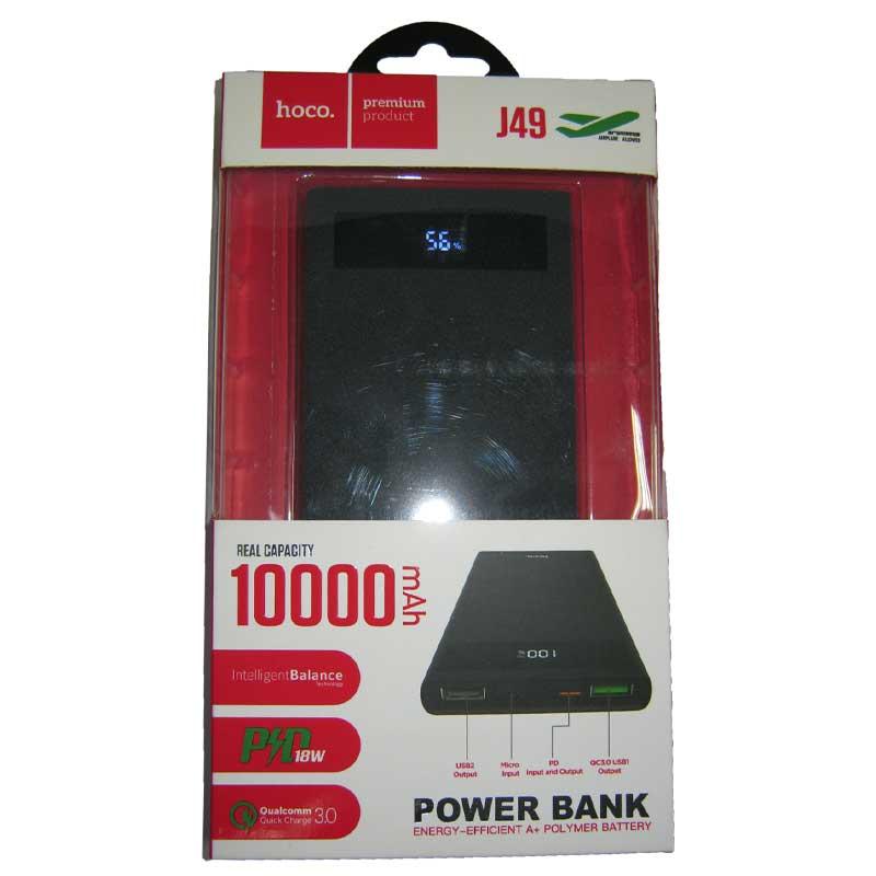 Портативное зарядное устройство HOCO J49PD+QC3.0 (10000mAh) 1USB(3А)+Type-C