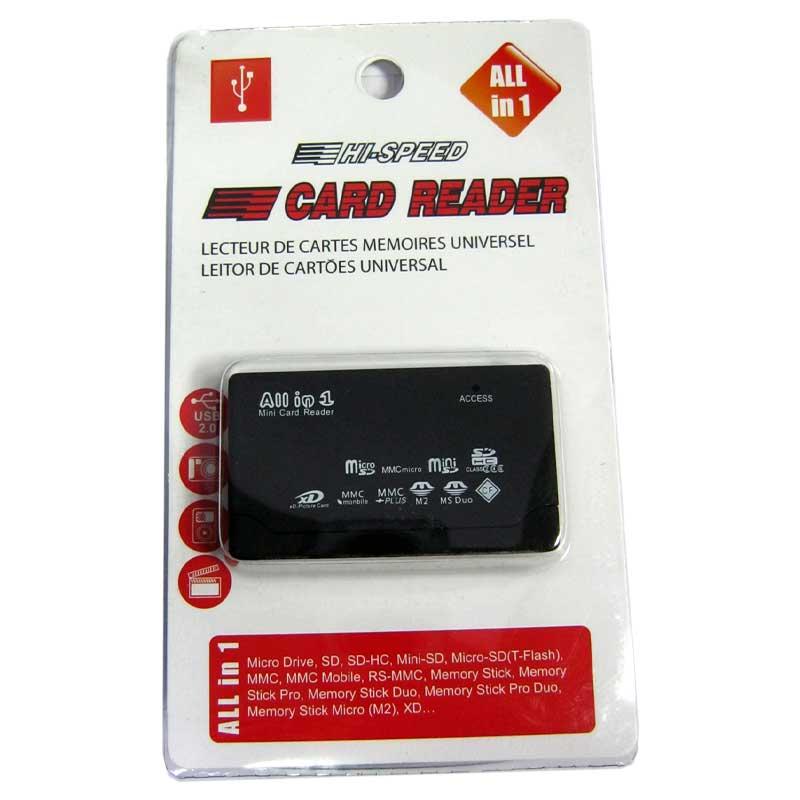 Кардридер ATcom TD2031(SD;M2;microSD;MS;MS Duo;XD;CF)