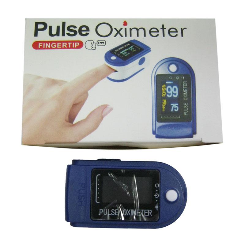 PULSE OXIMETER пульсометр на палец с функцией измерения кислорода от батареек