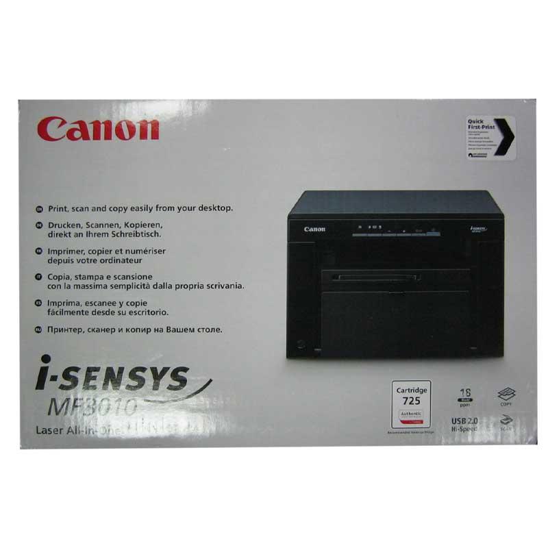 Принтер МФУ Canon MG3010 Laser Black