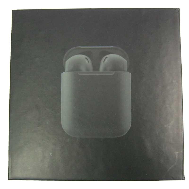 Bluetooth гарнитура BT Apple AirPods 2032 5.0 сенсорные black с кейсом
