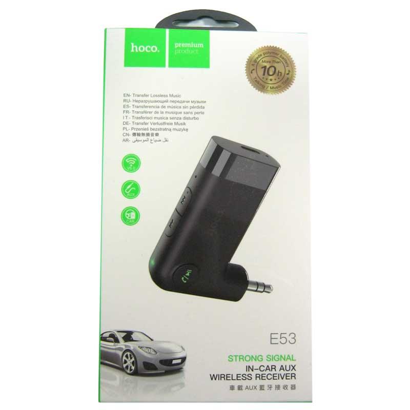 Адаптер Bluetooth HOCO E53 audio wireless adapter + встроенный АКБ