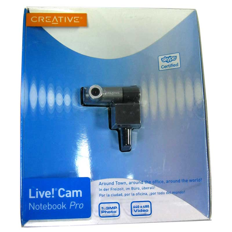 Web камера CREATIVE USB 1.3Mp (Акция)