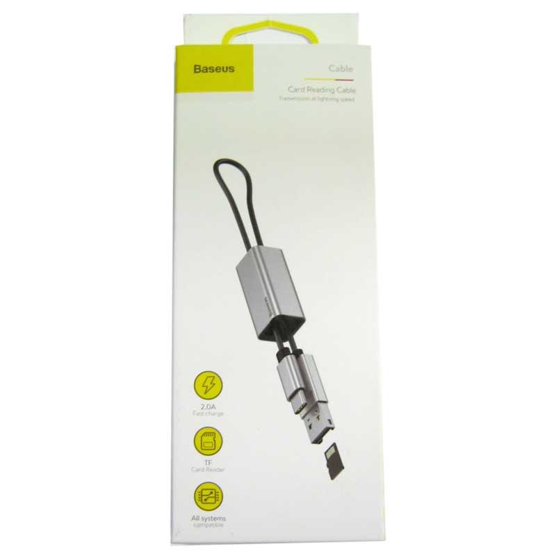 Кардридер Baseus Pentant USB 2.0/ TypeC ( microSD )