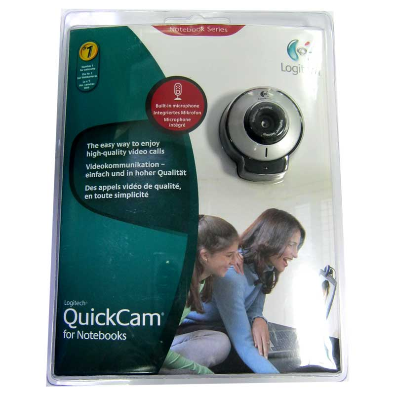 Web камера Logitech QuickCam 1.3Mp (с микрофоном) USB (Акция)