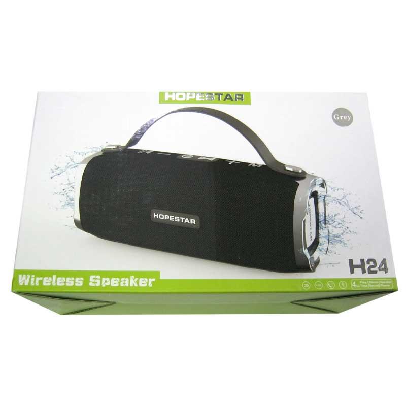 Портативная колонка Bluetooth HOPESTAR H24 (FM;USB;AUX;microSD)