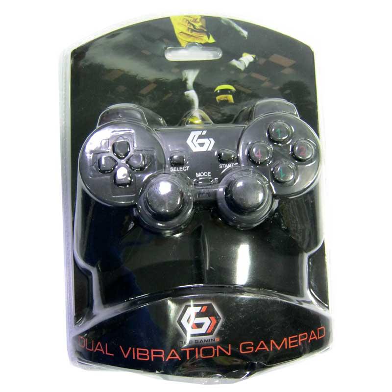 Игровой манипулятор Gembird JPD-UDV-01, c вибрацией, USB