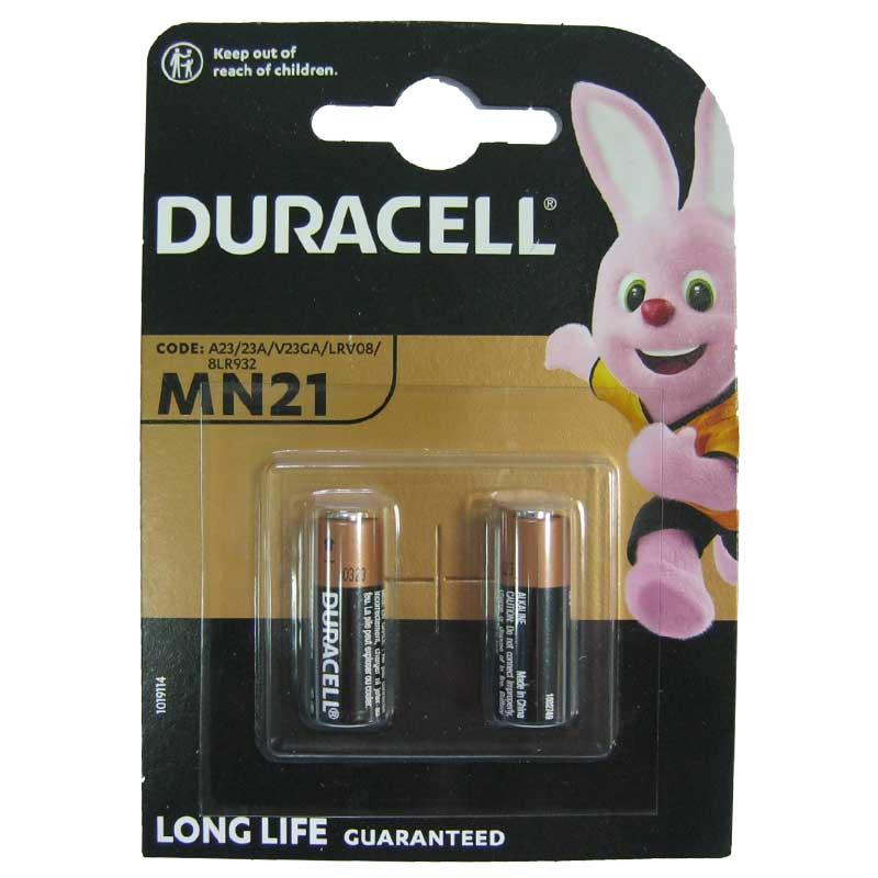 Батарейка 23A Duracell MN21 12B ,1 шт (блистер по 2шт)