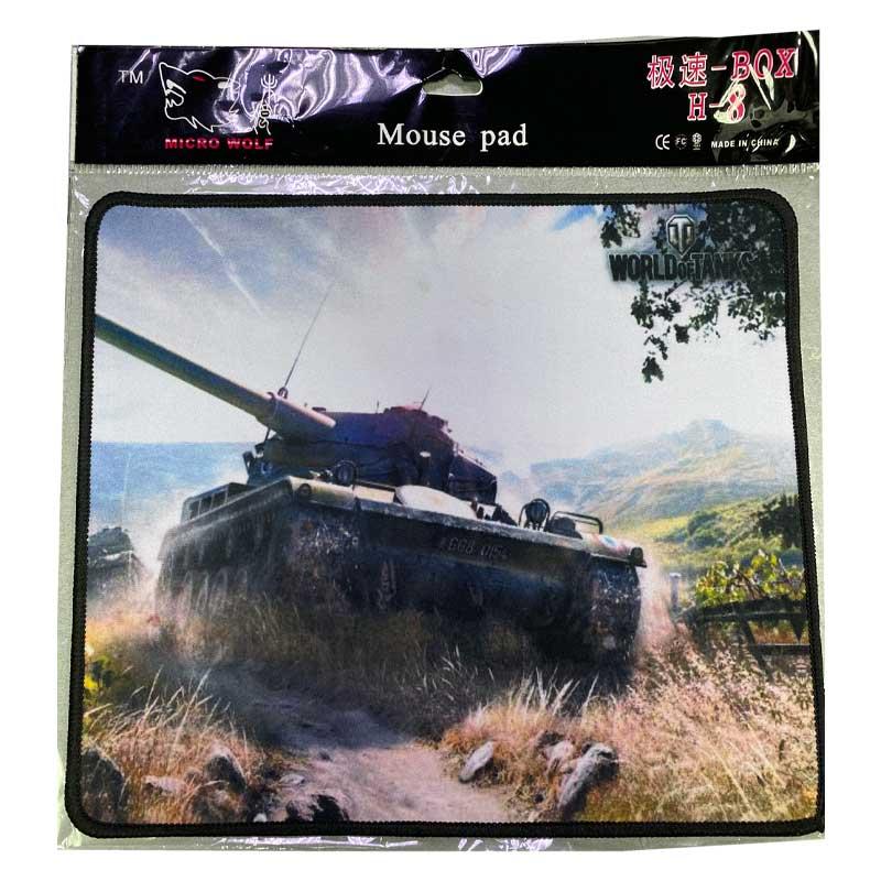 Коврик тканевый прорезиненый World of tanks 290х250х3мм