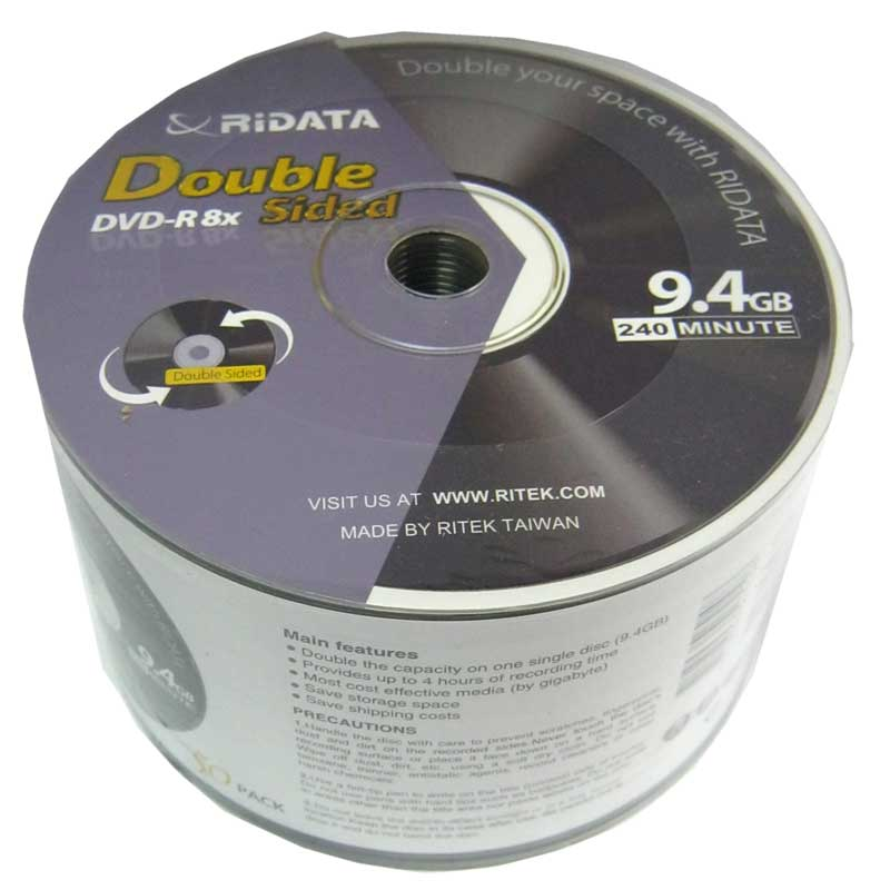 disk-ridata-9-4gb---8x-bulk-50-dvd-r-double-side
