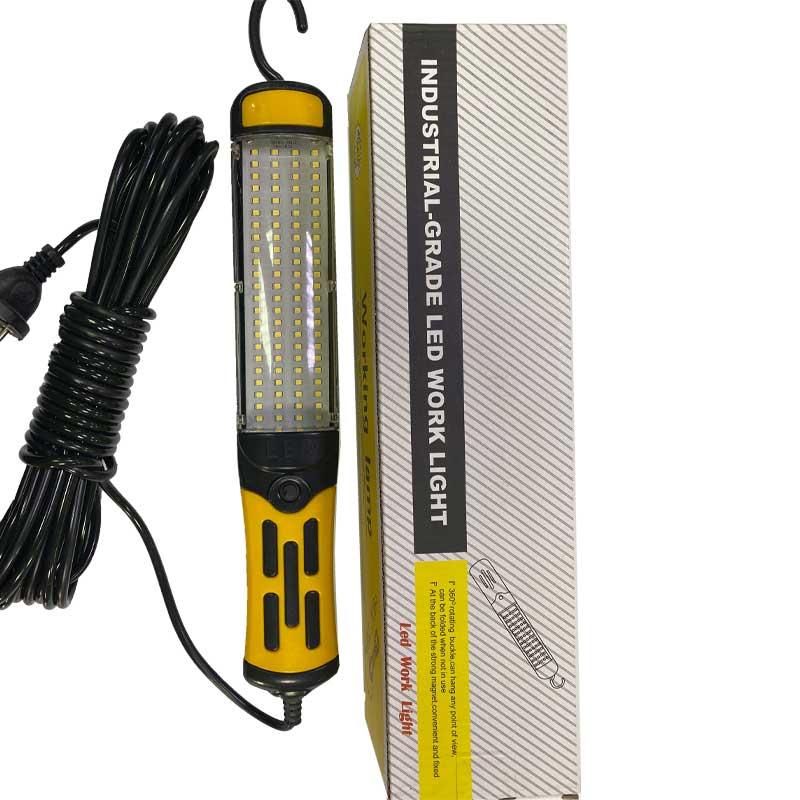Автомобильный фонарь переноска c кабелем 9м, LED 7610-96 (для СТО,кабель 9м, 220V, магнит, крюк)