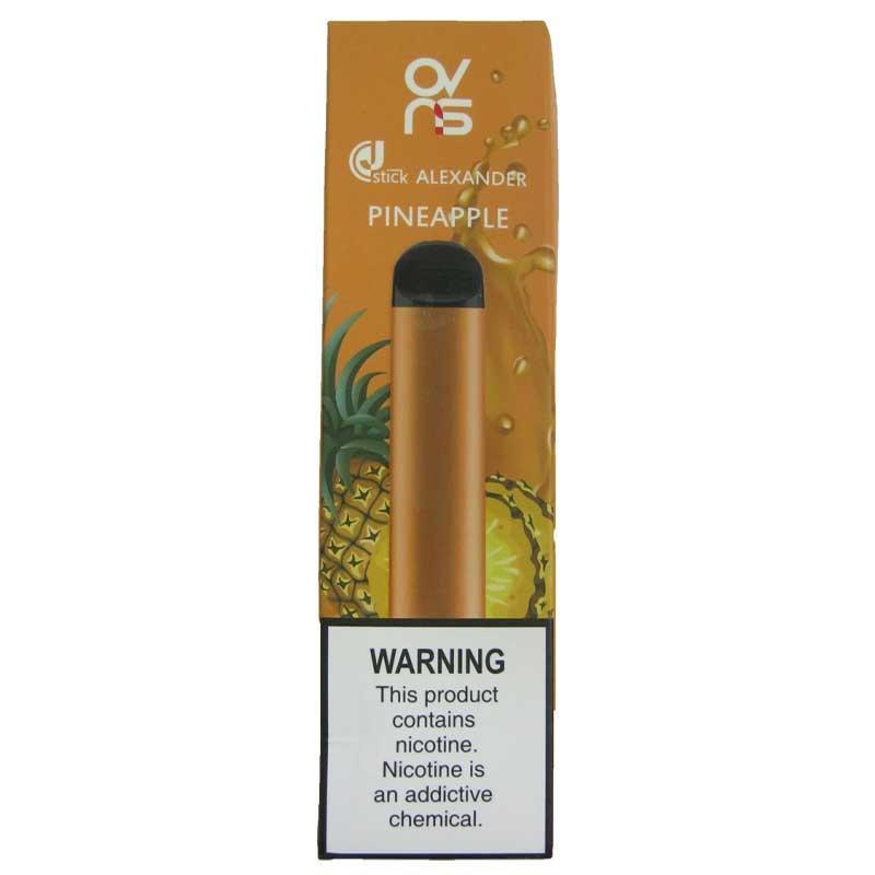 OVNS Alexander Pineapple, 500Puffs (одноразовая электронная сигарета)