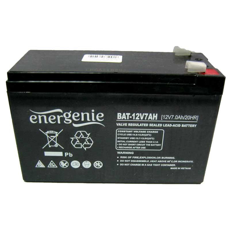 Аккумулятор свинцово-кислотный Energenie 12V-7,0Ah
